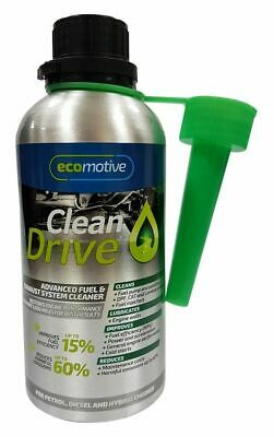 Eco Motive Clean Drive Fuel Exhaust System Cleaner For Petrol Diesel Hybrid Cars