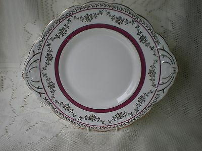 Vintage SALISBURY Bone China cake plate made in England