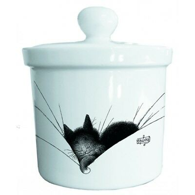 GRAND POT DE COLLECTION EN CERAMIQUE - Chats Dubout - Gros dodo