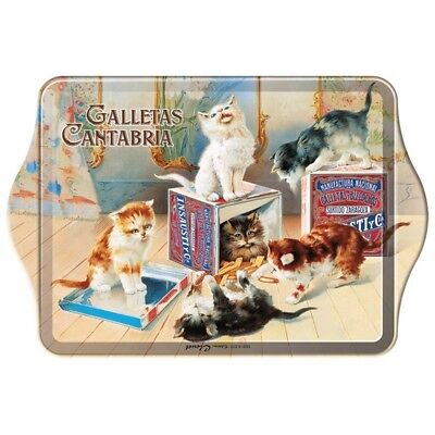VIDE-POCHES VINTAGE - Galletas Cantabria - Biscuits chats