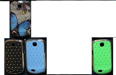2 X CUSTODIA COVER CASE RIGIDA HARD X Samsung  5570 Galaxy Next rigida
