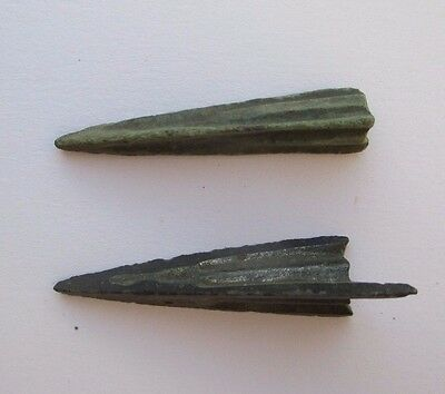 Pair of ancient Tip of Arrow, Kievan Rus