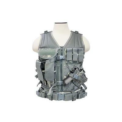 VISM CTV2916D Tactical Vest with Magazine Pouches Holster and Pistol Belt Digit