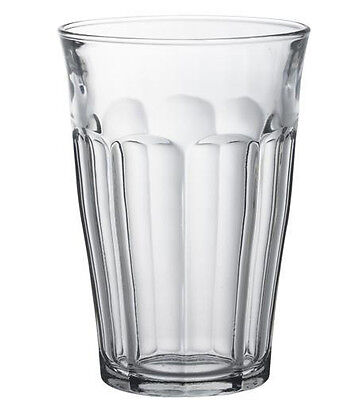Duralex Glassware - Clear Glass Picardie Tumbler 360ml - Set of 4