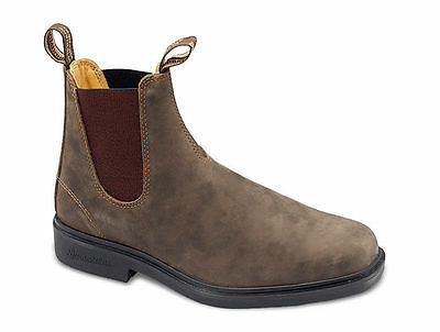 Blundstone 1306 Mens Chisel Toe Pull On Chelsea Ankle Boots