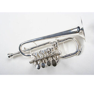 Tromba Trombino Sib Karl Glaser TOP QUALITY con Custodia e Accessori NUOVO