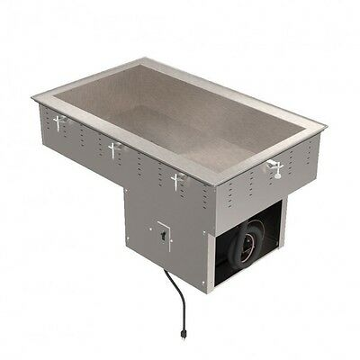 "Vollrath 36444 55""  Refrigerated Drop-In w/ (4) Pan Capacity, Cold Food Well, 12"