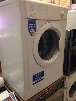 Indesit g71 5kg load vented tumble dryer in white picclick uk - Tumble dryer for small space pict ...