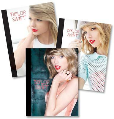 Taylor Swift Composition Notebooks - Set of 3 Journal 19 X 25cm