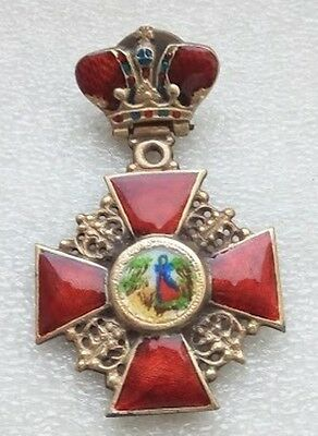 Order of St. Anne's with crown Russian Imperial order