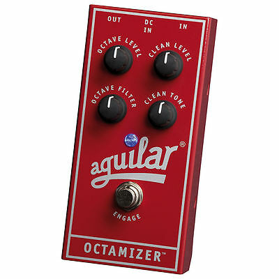 Aguilar Octamizer Octave Pedal 2-3 Day Priority Mail w/ Warranty