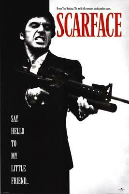 Scarface Poster 61 X 91cm Movie Wall Decor Official Licensed New