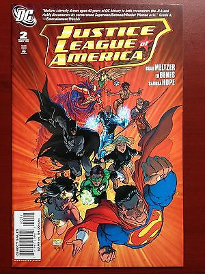 Justice League Of America #2 ~ Nm/mt (9.8) ~ Michael Turner Cover! ~ 1St Print