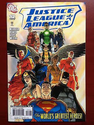 Justice League Of America #12 ~ Nm+ (9.6) ~ Michael Turner Variant! ~ 1St Print
