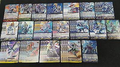 Cardfight Vanguard Royal Paladin Complete 50 Card Deck - Alfred & Galehaut