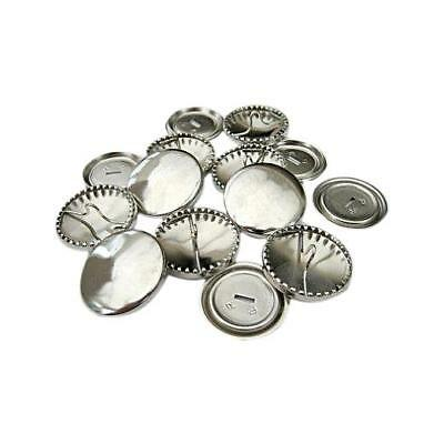 Metal Self Cover Buttons 10 sets