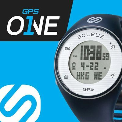 Soleus GPS ONE Running Digital Watch Speed Distance Pace Calorie Counter Lap Run