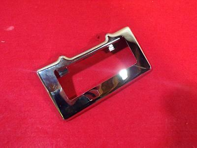 HARLEY Touring & Trike Models Chrome Oil Cooler Cover - Used 13416 70