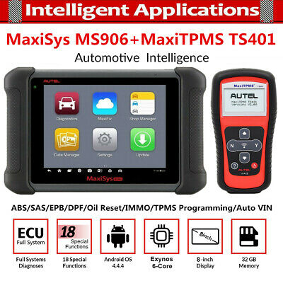 Autel MaxiDAS DS708 Car Diagnostic Tool All System Key Program Better than MD802