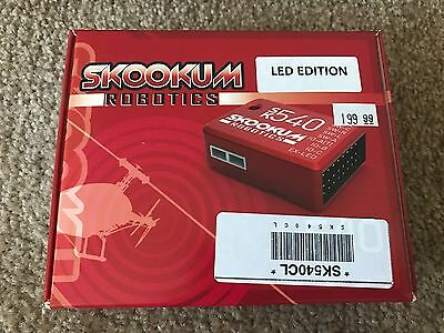 Brand New in Box Snookum Robotics SK540 3-Axis LED Edition Flybarless System!!!