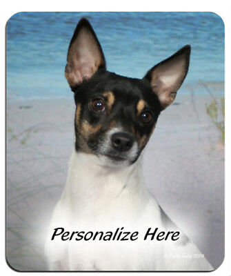 Rat  Terrier   ( 1 )    Personalized  MousePad