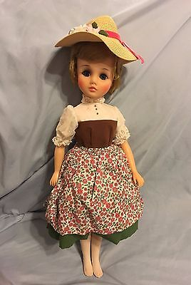 1960s Madame Alexander Sound of Music 17 Inch Maria Doll