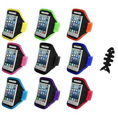 For iPod Touch 5th Gen 5G 5 Full Running Sports Gym Armband Case+Cable Wrap