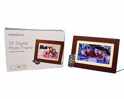 "Insignia NS-DPF0812W 10"" Digital Picture Frame"