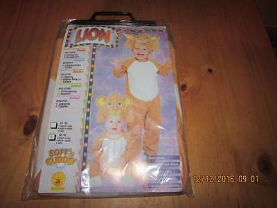 Kids Lion Costume, Full Piece, Toddler, New, Free Shipping