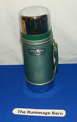 STANLEY ALADDIN 24 oz WIDE MOUTH THERMOS --- Made In USA ---- Missing Screw Cap