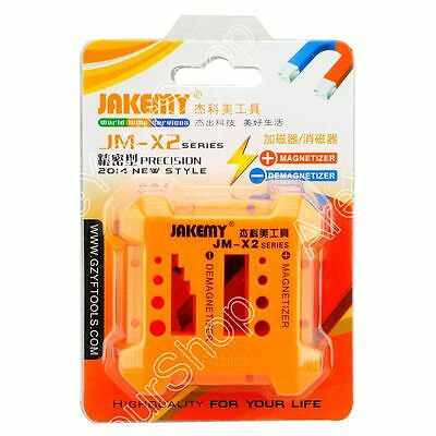 JM-X2 Magnetizer Demagnetizer Box To Collect Screwdriver Magnetic Tools Kit