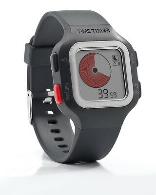 TIME TIMER Watch Plus Adult Size Visual Management Tool ADHD Autism Running