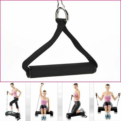 1Pc Tricep Rope Cable Gym Attachment Handle Bar Dip Station Resistance Exercise