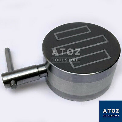 """OEM ATOZ New 4"""" 100mm Round Permanent Magnetic Chuck Fine Pole Heavy Duty Power"""