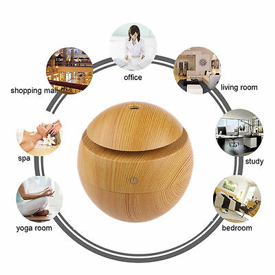 USB Ultrasonic Humidifier USB Purifier Aroma Aromatherapy Essential Oil Diffuser