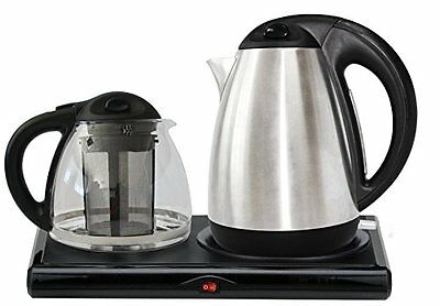 GOLDA INC. Tea Maker, Electric Kettle, Tea Tray Set