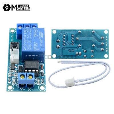 12V 1 Channel Latching Relay Module with Touch Bistable MCU Switch Control
