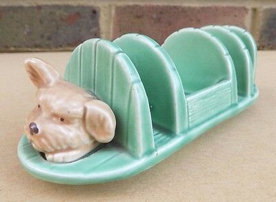 Vintage SYLVAC Dog Toast Rack 1990