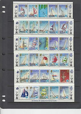 over 100 different Solomon Island Stamps Mint Unhinged ref a27