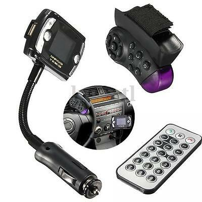 Bluetooth FM Coche MP3 Reproductor Transmisor Lector Manos Libres LCD USB CAR NW