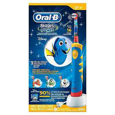 Kids ToothBrush Oral-B  Electric Rechargeable Power Pro-Health -Finding Dory New