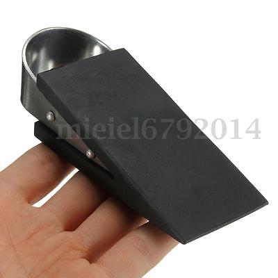 2Pcs Extra Large Rubber Door Stop Stopper Wedge Safety Jammer Block Home Office