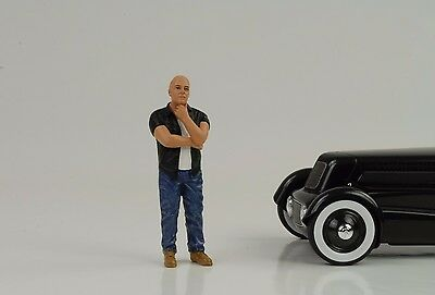 Cool Alan Figurine Figure Street Racing Crew 1:18 American Diorama I no car