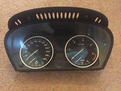 BMW E60 E61 520d 525d 530d 535d INSTRUMENT CLUSTER SPEEDO CLOCK PANEL 9177261