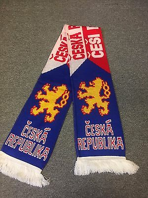 Czech Republic Soccer Scarf
