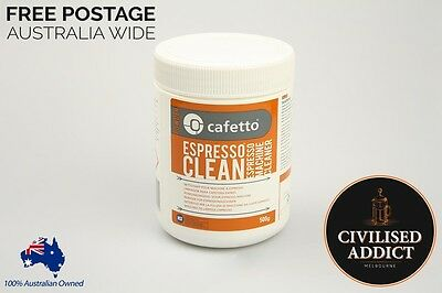 500g Cafetto Espresso Cleaner Powder Coffee Machine Professional Clean