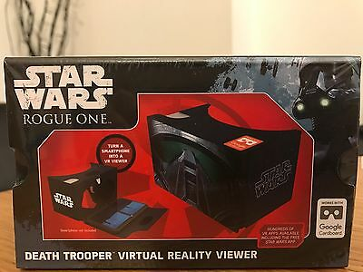 Star Wars Rogue One Death Trooper Virtual Reality Viewer Smart Phone To VR View