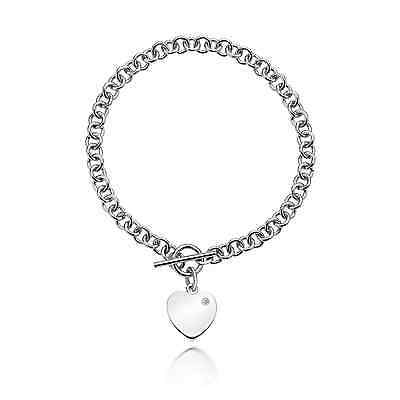 Hot Diamonds Just Add Love Lovelocked Silver Bracelet - DL003