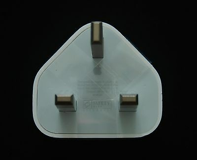 Genuine Apple 3-Pin USB Mains Charger Plug A1399 for iPhone 5 5S SE 6 6S 7 Plus