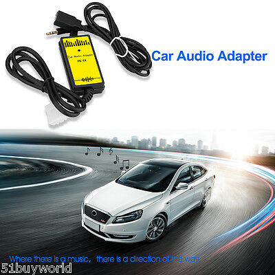 3.5mm USB Car Auto Audio MP3 Player Aux Audio Adapter Cable for Mazda 323 Mazda6